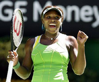 GRB, Serena Vilijams (USA)